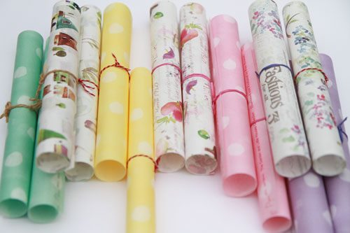 輕薄包裝紙/ wrapping paper design for paper lover