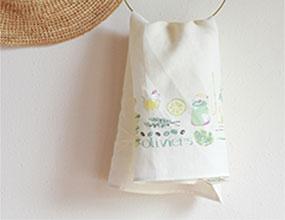 織品設計-亞麻茶巾/ Textile design-linen teatowel